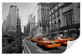 Wallprints - Wallprint W - Cabs in Manhattan 60x40cm