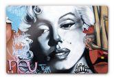 Glasbilder - Glasbild Urban Graffiti Art 60x40 cm