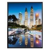 Poster Colombo - Petronas Towers bei Nacht