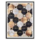 Poster Fredriksson - Gold and Black