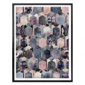 Poster Fredriksson – Art Deco: sogno in rosa