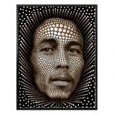 Poster Ben Heine - Circlism: Bob Marley