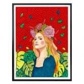 Poster Hülya - Madonna