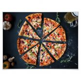 Poster Italienische Pizza