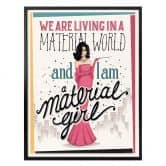 Poster Tohmé - Material Girl