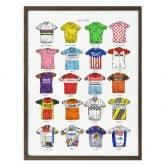Poster Sparshott - Cycling Shirts