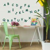 Sticker mural - Alphabet