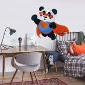 Muursticker Superpanda