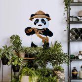 Muursticker Panda op Safari