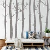 Wandtattoo Wald Set