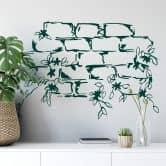 Muro con fiorellini