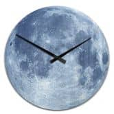 Acrylic Wall Clock Full Moon