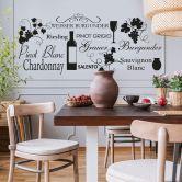 White Wine Wall sticker