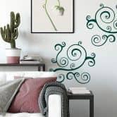 Adesivo murale - Ornamento 4