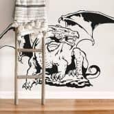 Adesivo murale - Drago mitologico