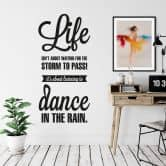 Life isn\'t about... Wall sticker