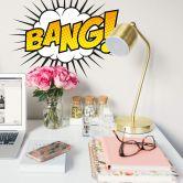 Wandtattoo Comic Soundeffect - Bang