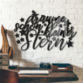 Acrylbuchstaben - Träume schön kleiner Stern