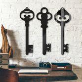 Acryldeko Schlüssel (3 tlg.)