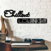 Lettere in acrilico Chillout Lounge