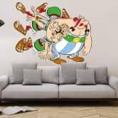 Wandtattoo Asterix & Obelix - Obelix und die Römer