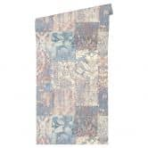 Architects Paper Tapete Luxury Classics blau, creme, lila