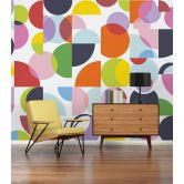 Architects Paper Fototapete Atelier 47 Coloured Circles grafisch