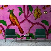 Livingwalls Fotobehang Walls by Patel 2 bird of paradise 2
