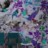 Livingwalls Photo Wallpaper Walls by Patel funky birds 2