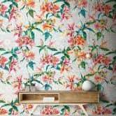 Livingwalls Fototapete Walls by Patel mosaic lilies 1
