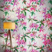 Livingwalls Fototapete Walls by Patel mosaic lilies 2