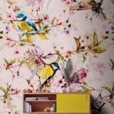 Livingwalls papier peint photo Walls by Patel songbirds 2