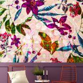 Livingwalls Fototapete Walls by Patel mosaic blossom 2