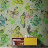 Livingwalls Fototapete Walls by Patel mosaic butterflies 3