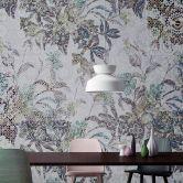 Livingwalls Fototapete Walls by Patel mosaic leaves 1