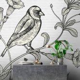 Livingwalls Fototapete Walls by Patel birdy 1