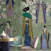 Livingwalls Fototapete Walls by Patel kimono 1