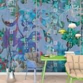 Livingwalls Fototapete Walls by Patel collage 1