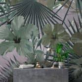 Livingwalls Photo Wallpaper Walls by Patel hibiscus 1