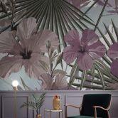 Livingwalls Fototapete Walls by Patel hibiscus 2