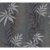 A.S. Création Strukturprofiltapete Kingston grau, metallic, schwarz