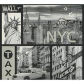 A.S. Creation behang NYC Taxi zwart wit