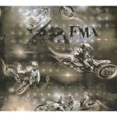 A.S. Création Papiertapete Boys & Girls 6 Tapete Moto Cross beige, metallic, schwarz