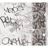 A.S. Création Papiertapete Boys & Girls 6 Tapete mit Graffiti grau, schwarz, weiß