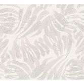 A.S. Création Vliestapete Flavour Tapete  metallic, weiß, grau