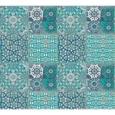 A.S. Création Vliestapete il Decoro Tapete in mediterraner Fliesen Optik blau, grau, grün