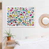 Poster da colorare - Pop Art OMY