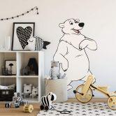 Wandtattoo Benjamin Blümchen Eisbär Erna