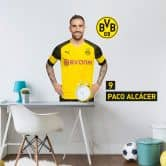 Wandsticker BVB Alcacer Portrait 2018