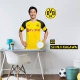 Wandsticker BVB Kagawa Portrait 2018